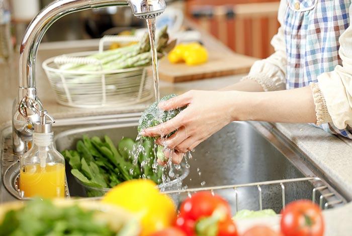 muốn chế biến thực phẩm an toàn phải có nguồn nước sạch