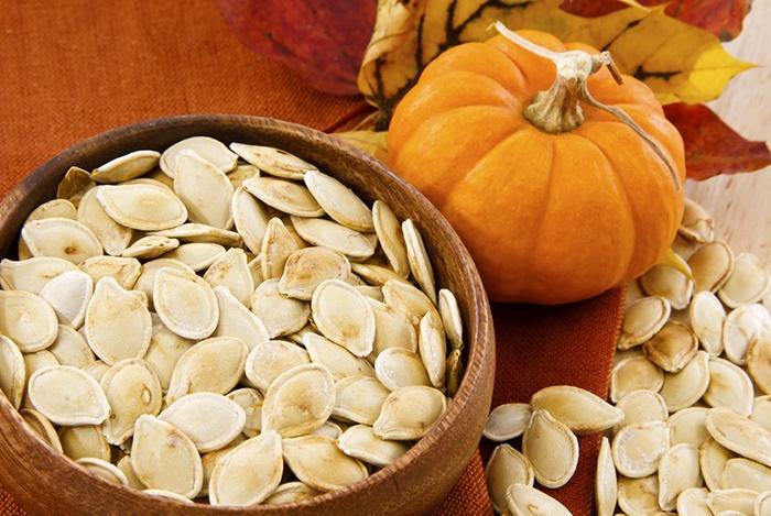 ăn hạt bí ngô giúp bổ máu