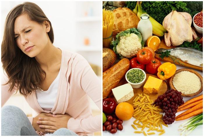 ăn thực phẩm kỵ nhau khiến bạn bị đau bụng