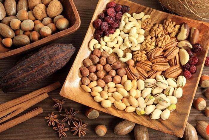 bổ sung omega 3 bằng các loại hạt