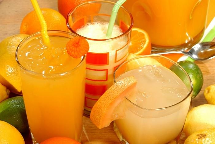 cam, chanh chứa nhiều vitamin C giải rượu rất tốt