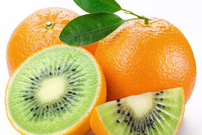 cam ruột kiwi