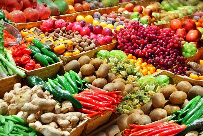chọn thực phẩm hữu cơ không chứa thuốc trừ sâu