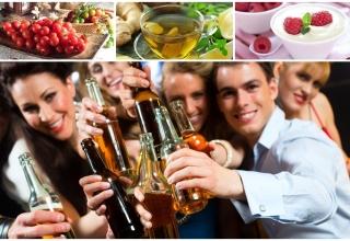 Bỏ túi 11 thực phẩm giải rượu cho phái mạnh
