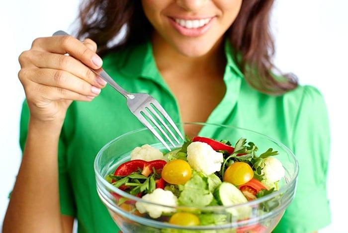 làm bạn với các loại rau xanh