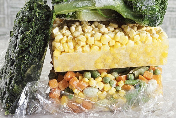 thực phẩm đông lạnh đóng gói và bảo quản không đúng quy cách