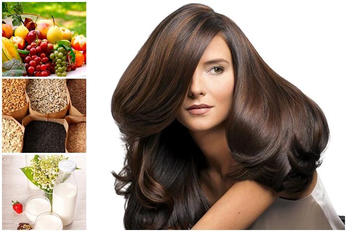 tóc đẹp nhờ các loại thực phẩm tốt cho tóc