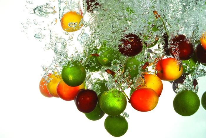 trái cây tươi giúp an thai rất tốt