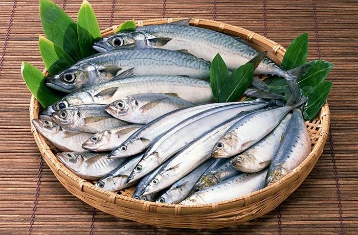 cá chứa acid béo lành mạnh tốt cho da bị mun