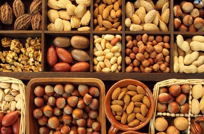 các loại hạt chứa nhiều acid béo tốt cho não