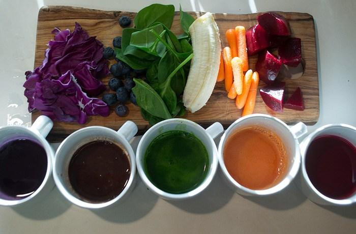 các loại phẩm màu thực phẩm tự nhiên