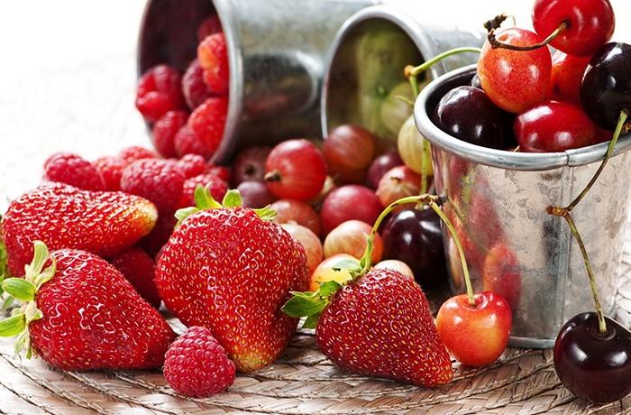 các loại quả mọng chứa nhiều vitamin tốt cho não