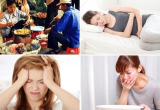 Nhận biết triệu chứng ngộ độc thực phẩm để sơ cứu kịp thời
