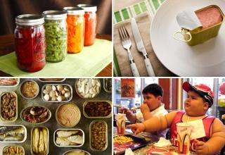 Thực phẩm đóng hộp-tiện lợi nhưng không hề tốt