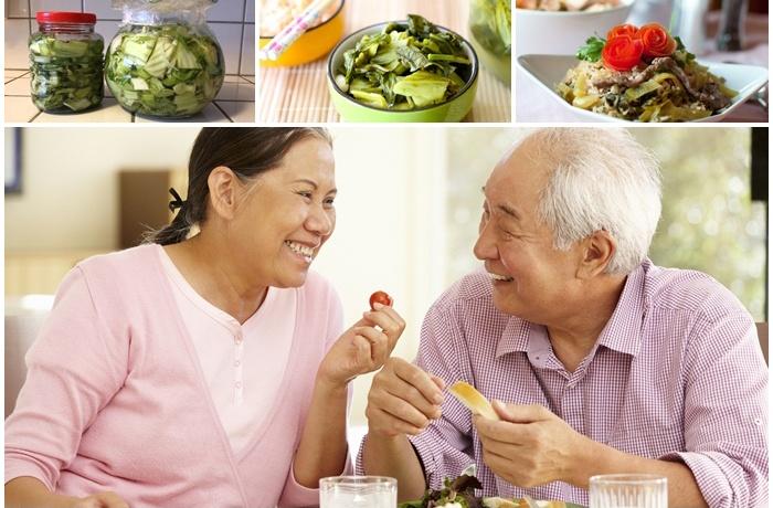thực phẩm lên men quá mặn không tốt cho người già