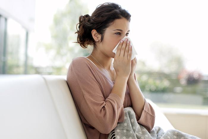 Bị cảm cúm