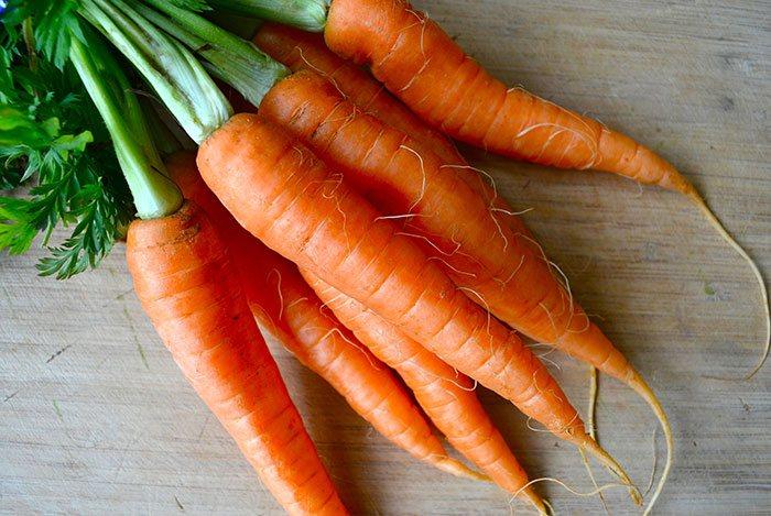 Cà rốt giàu vitamin A