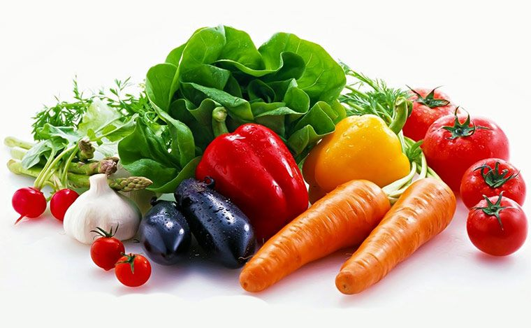 Ăn nhiều rau xanh dễ tiêu hóa