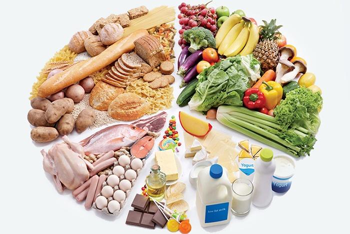 Ăn tất  cả các chất đảm bảo cho sức khỏe
