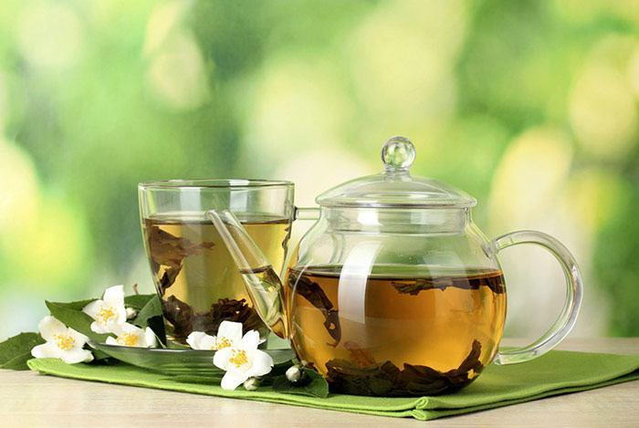trà xanh mật ong