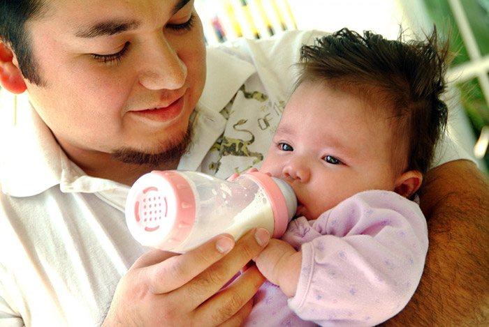 Sữa tươi cho trẻ