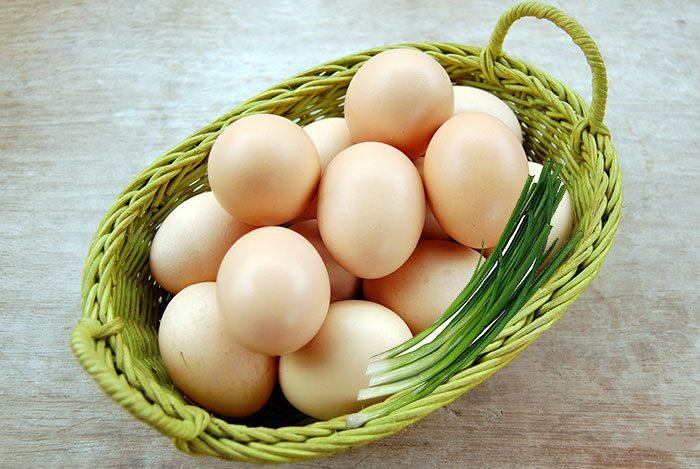 Trứng gia cầm tốt cho thận