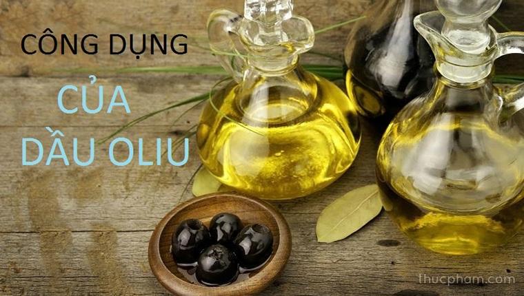 10 Công dụng của dầu oliu với sức khỏe và sắc đẹp