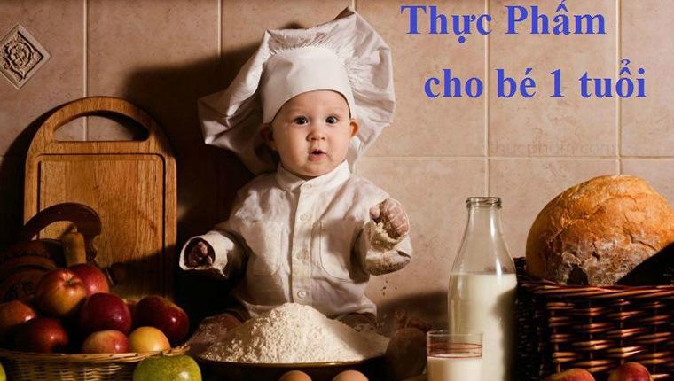 10 siêu thực phẩm cho bé 1 tuổi thông minh khỏe mạnh