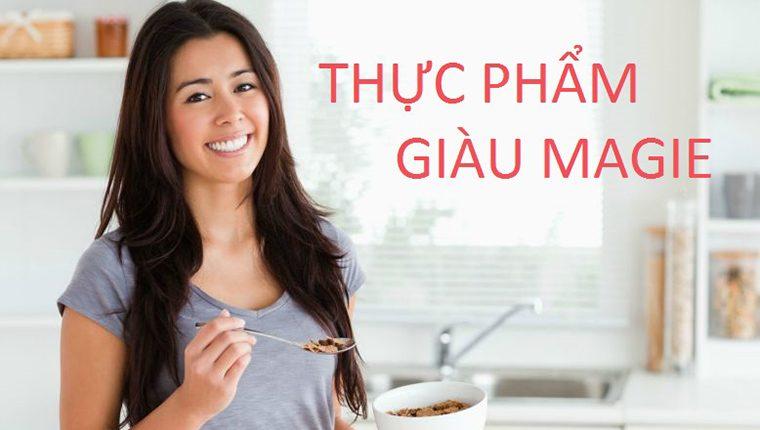 Top 12 thực phẩm giàu magie tốt nhất cho sức khỏe