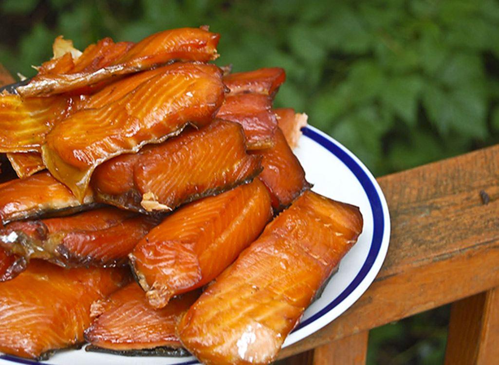 Cá hồi xông khói Chile