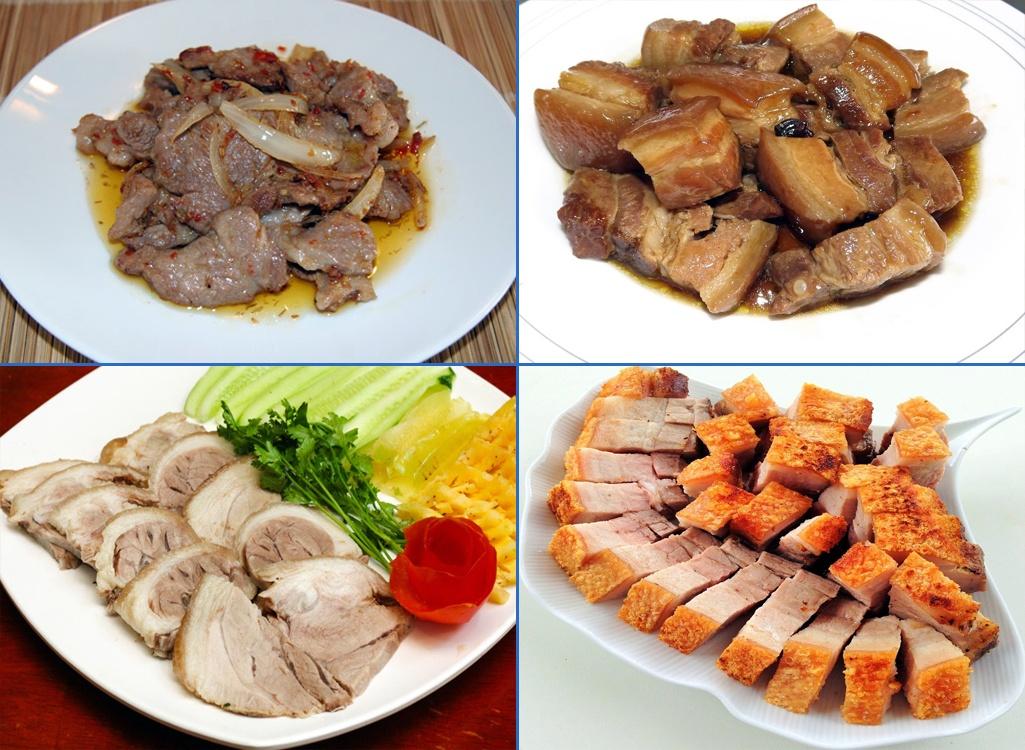 Thịt lợn đen Hòa Bình chính gốc