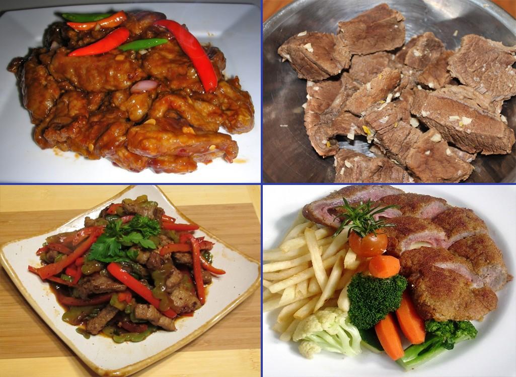 Thịt bắp bò gié Kim Bôi