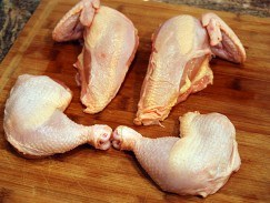 Thịt gà ta sạch
