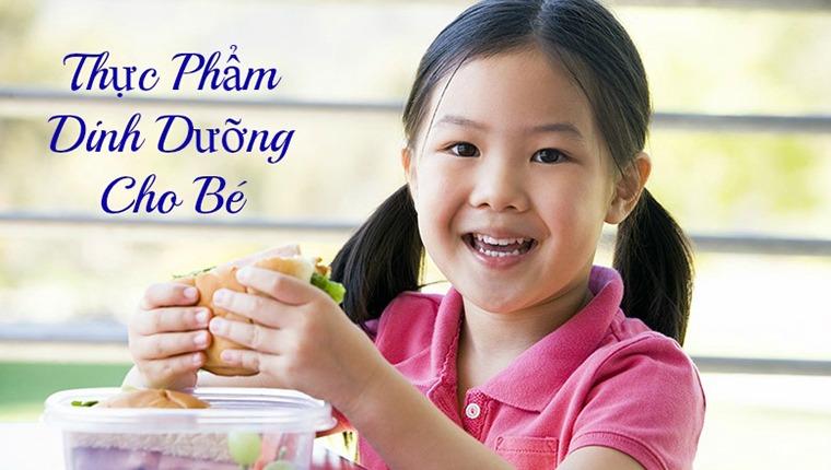 10 thực phẩm dinh dưỡng cho bé yêu phát triển toàn diện