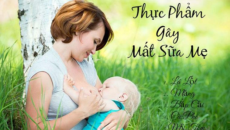 Top 10 Loại Thực Phẩm Gây Mất Sữa Mẹ Tuyệt Đối Nên Tránh