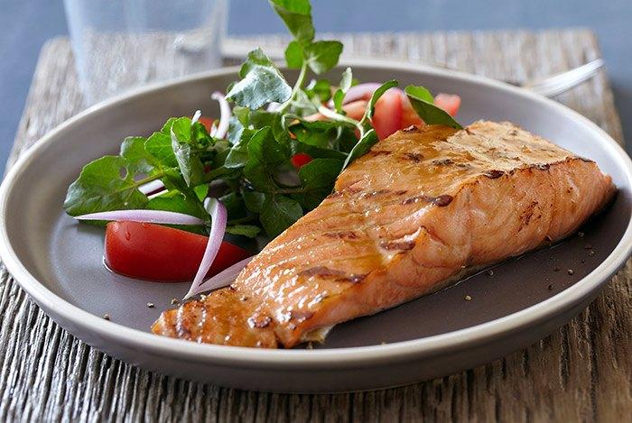 món ăn từ cá hồi