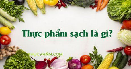thuc-pham-sach-la-gi