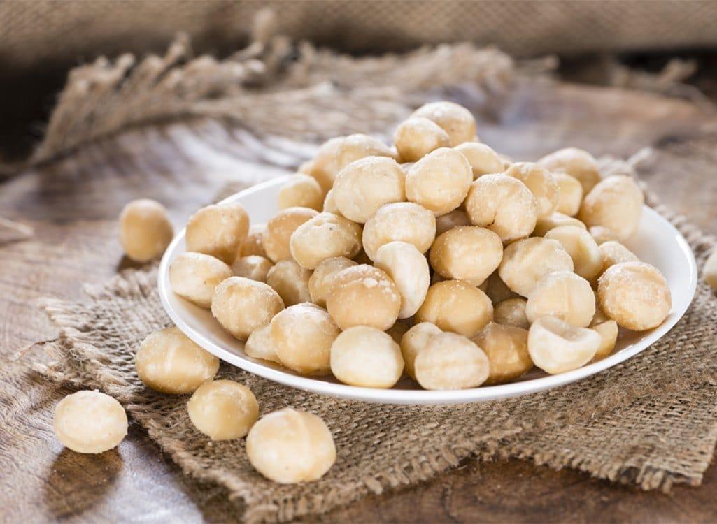 Hạt macadamia tẩm muối