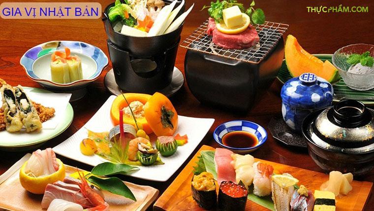 7 Loại Gia Vị Nhật Bản Tạo Sức Hấp Dẫn Cho Món Ăn
