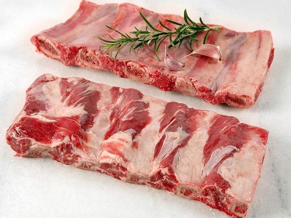 Sườn bò có xương nhập khẩu Mỹ