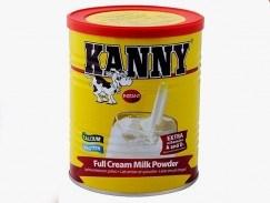 Sữa bột nguyên kem cao Kanny nhập khẩu từ Hà Lan