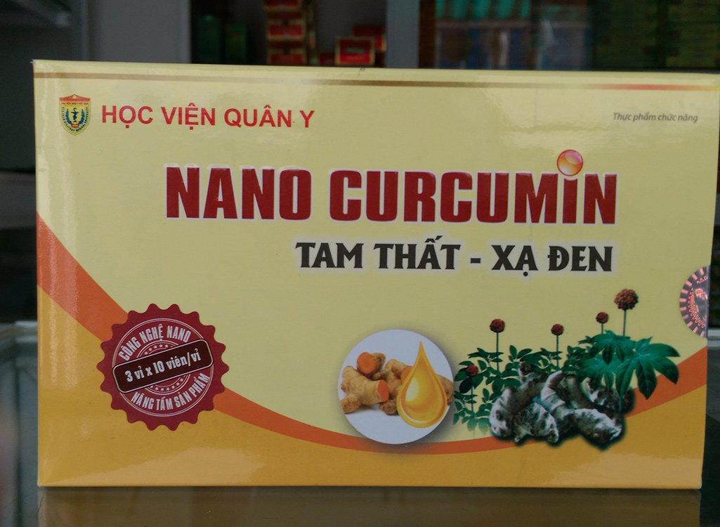 Tam thất xạ đen Nanocurcumin