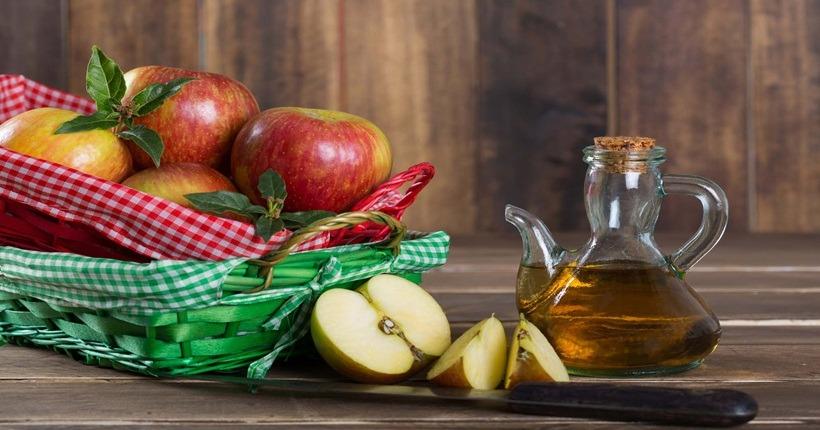 làm đẹp với giấm táo