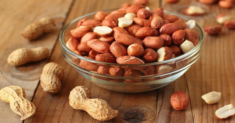 Hạt đậu phộng (hạt lạc) kiểm soát cân nặng hiệu quả
