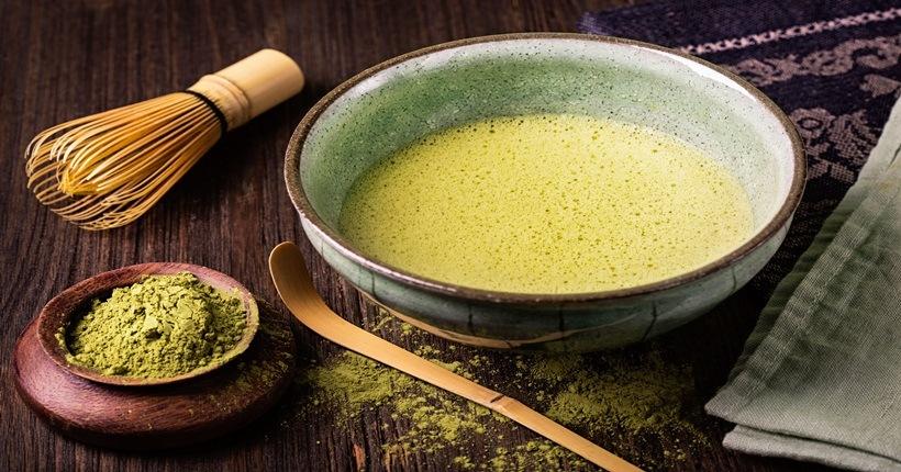 Giảm cân bằng sữa chua với bột trà xanh