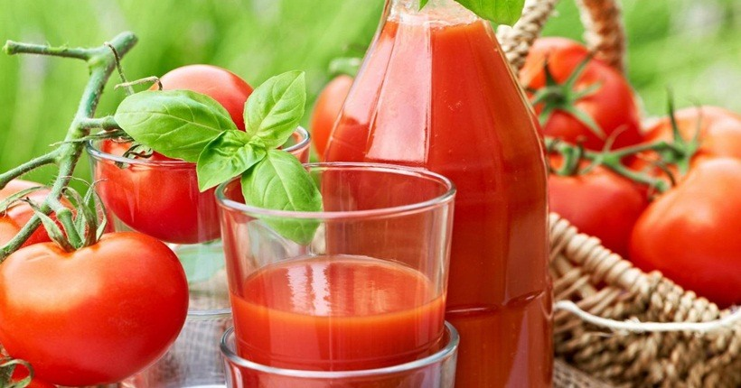 Nước ép trái cây giảm mỡ bụng bằng cà chua
