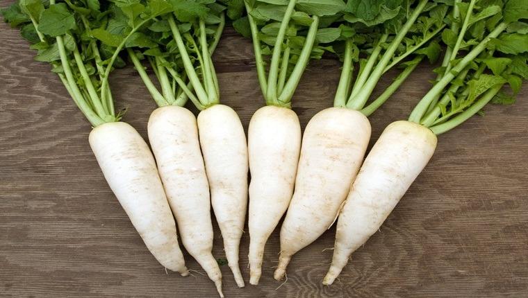 Tác dụng của củ cải trắng trong việc phòng và chữa bệnh