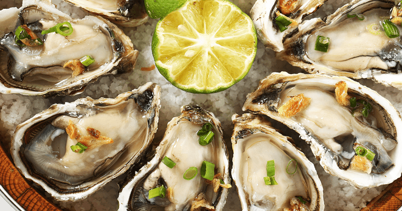 Thức ăn giàu kẽm cho đàn ông từ hàu biển