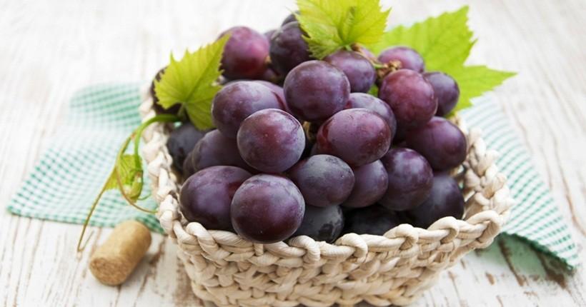 Nho – thức ăn phóng chống ung thư vòm họng tuyệt vời