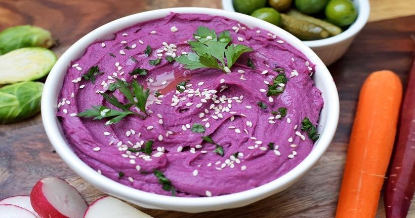 Thực phẩm màu tím: Nhóm các loại rau rủ quả